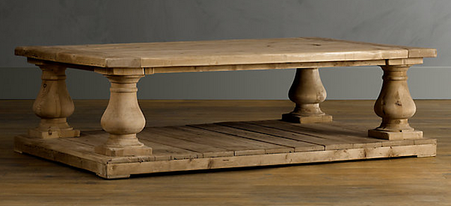 how to clean a restoration hardware wood table