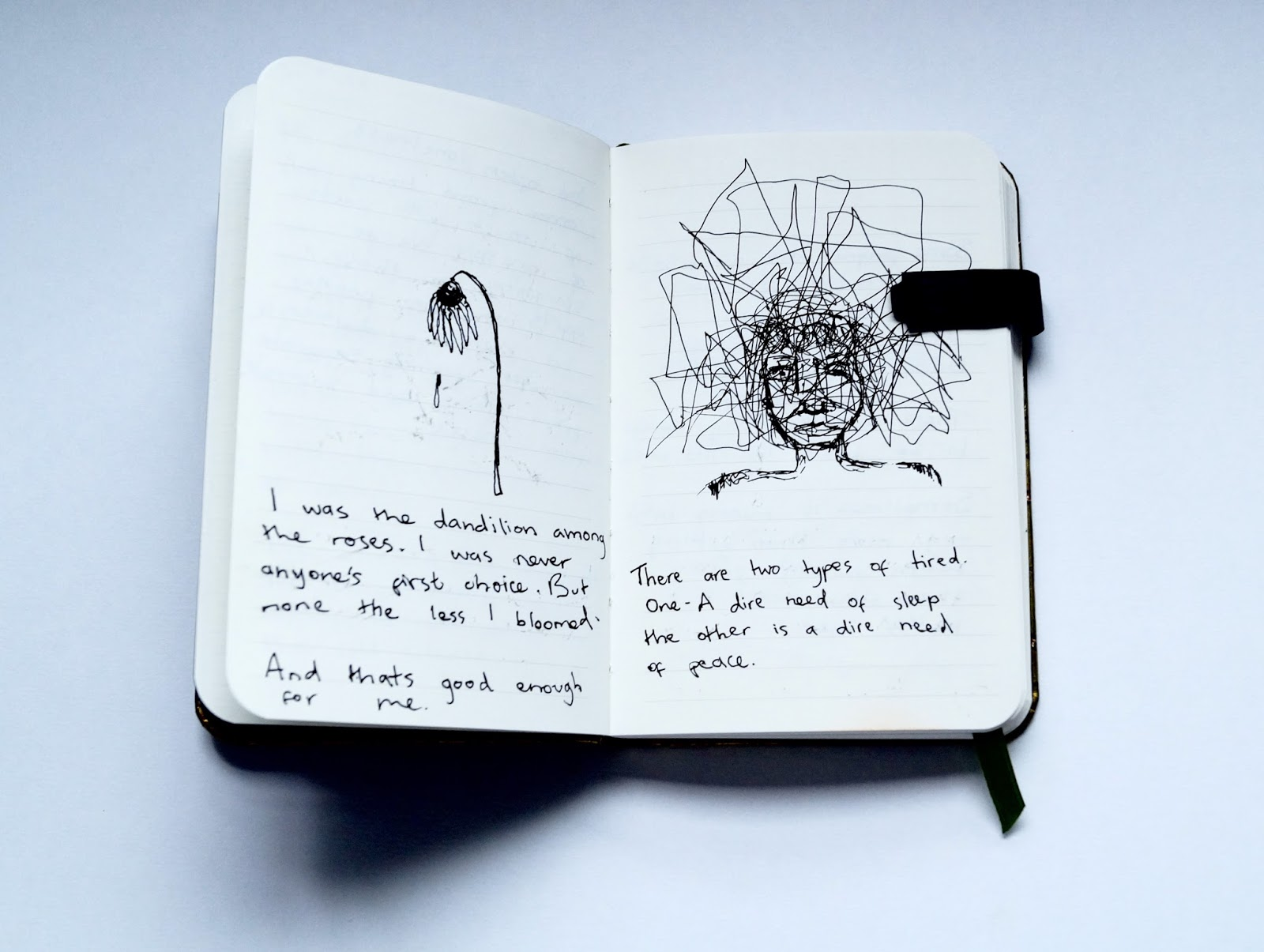 What should I write and draw in my journal?