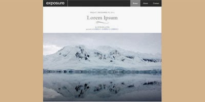 exposure-blogger-template