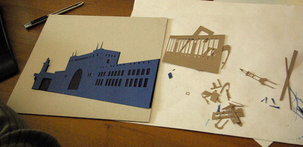 Mundo de papel de People Too. Paper World