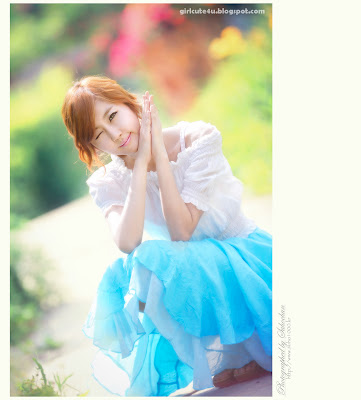 5 Choi Byeol Yee-Legs Show Off-very cute asian girl-girlcute4u.blogspot.com