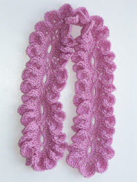 Вязание ажурных шарфов.  Схемы вязания крючком.