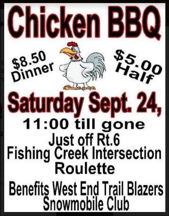 9-24 Chicken BBQ, Roulette
