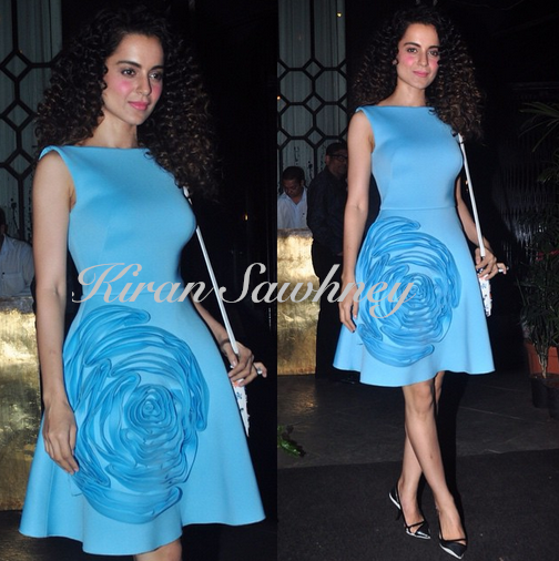 Kangana Ranaut at Sanjay Leela Bhansali party in Gauri and Nainika