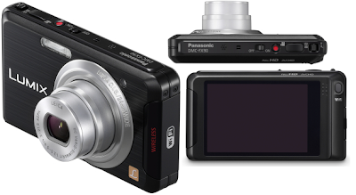 Panasonic Lumix FX90, 12MP With Upload Facility Via WiFi & Full HD Video Recording