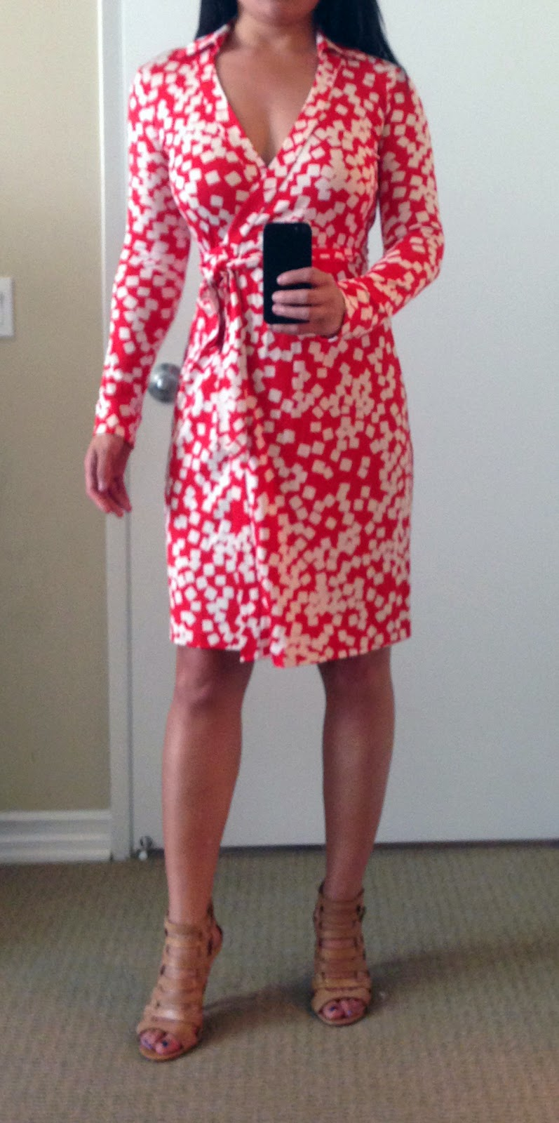 How Do Dvf Wrap Dresses Fit Do you always wear a slip