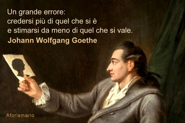 Aforismario johann wolfgang goethe aforismi massime e - Goethe divano occidentale orientale ...