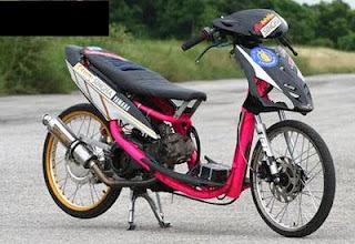 modifikasi mio drag 2012  paling bagus