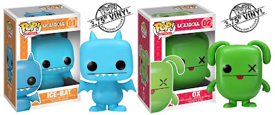 Uglydoll Pop! Vinyl Figures Wave 1 by Funko - Ice-Bat & Ox