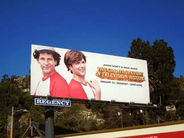 Greatest Event TV History Bosom Buddies homage billboard