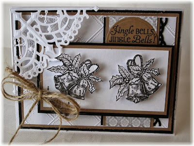 Stamps - Our Daily Bread Designs Jingle Bells, ODBD Custom Decorative Corners Dies