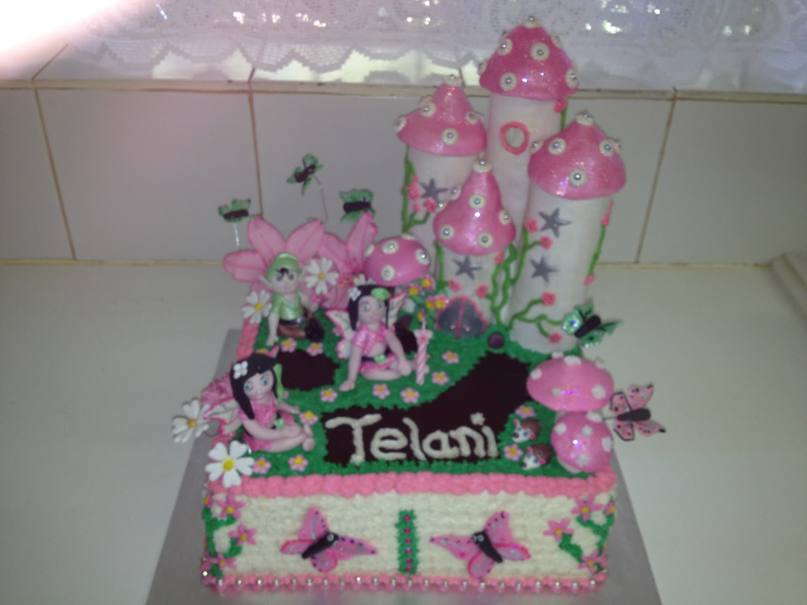 Its My Party Talani One Year Fairy Birthday Cake
