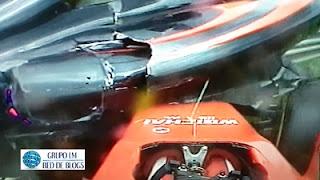 Destrozo Ferrari y Mclaren