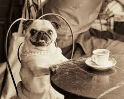 Me enjoying cappuccino in Paris in the 5th
