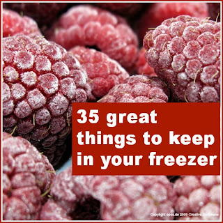 35 freezer ideas