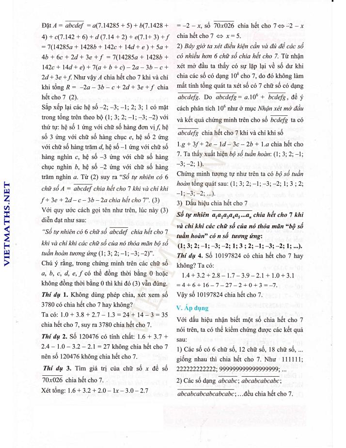 mot dau hieu chia het cho 7 trang 2 cua thay nguyen van hieu