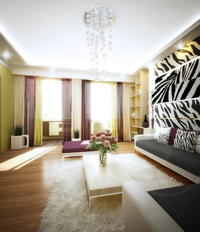 Дизайн  интерьера квартиры по ул. Антонова  г. Пенза (80кв.м.