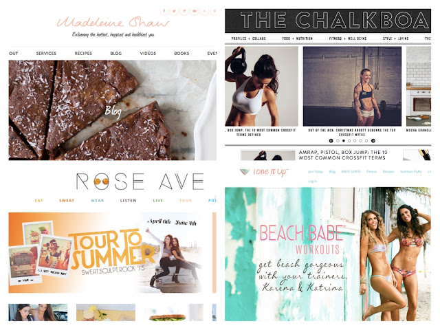 BLO - Favorite Fitness Blogs