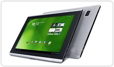 Review Tablet Android Honeycomb A500 Spesifikasi Harga Terbaik Murah Untuk Pasar Indonesia