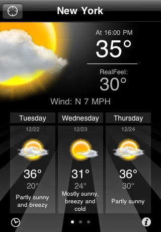 accuWeather para android