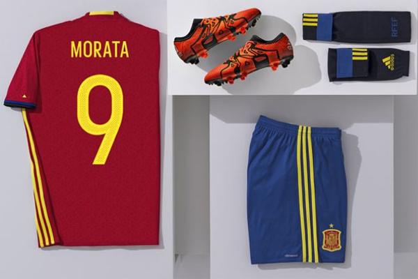 camiseta número nombre pantalones medias botas selección española de fútbol Eurocopa 2016 comprar