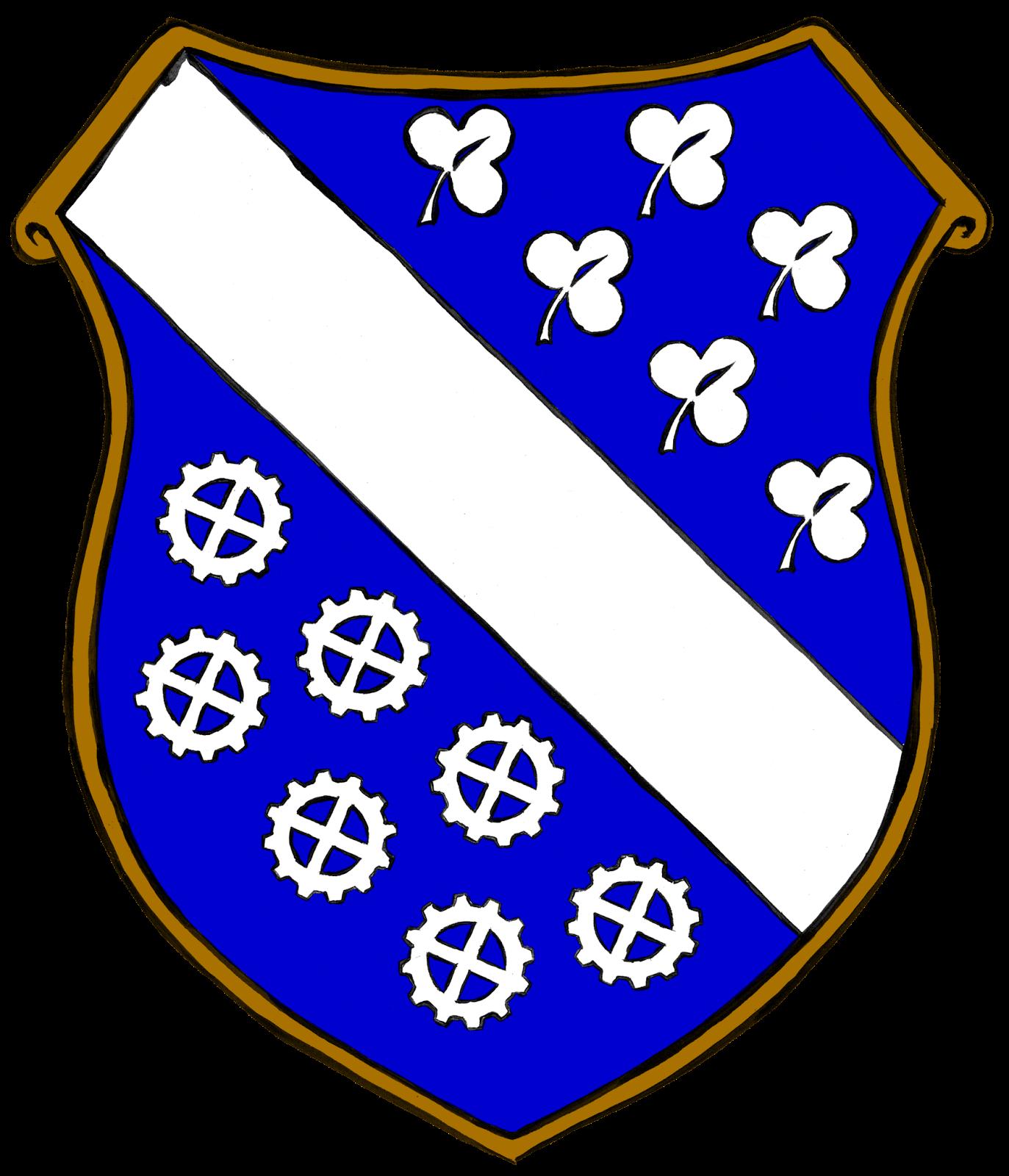 Casseler Steampunk-Wappen coloriert