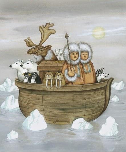 Anita Kunz: Arctic Ark.
