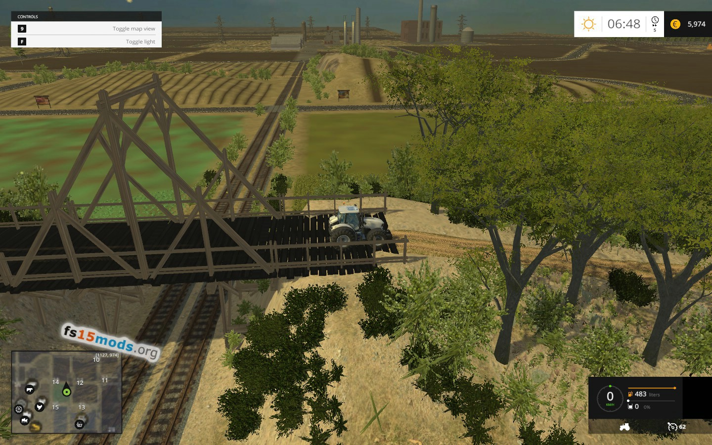 La Provence Map V2  FS15 Mods