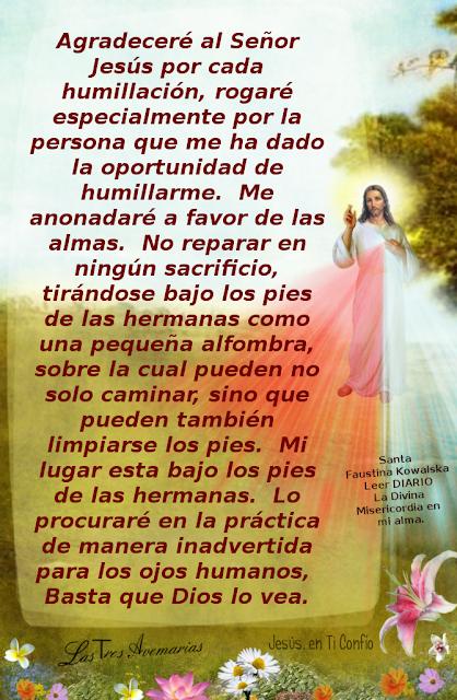 escrito de santa faustina