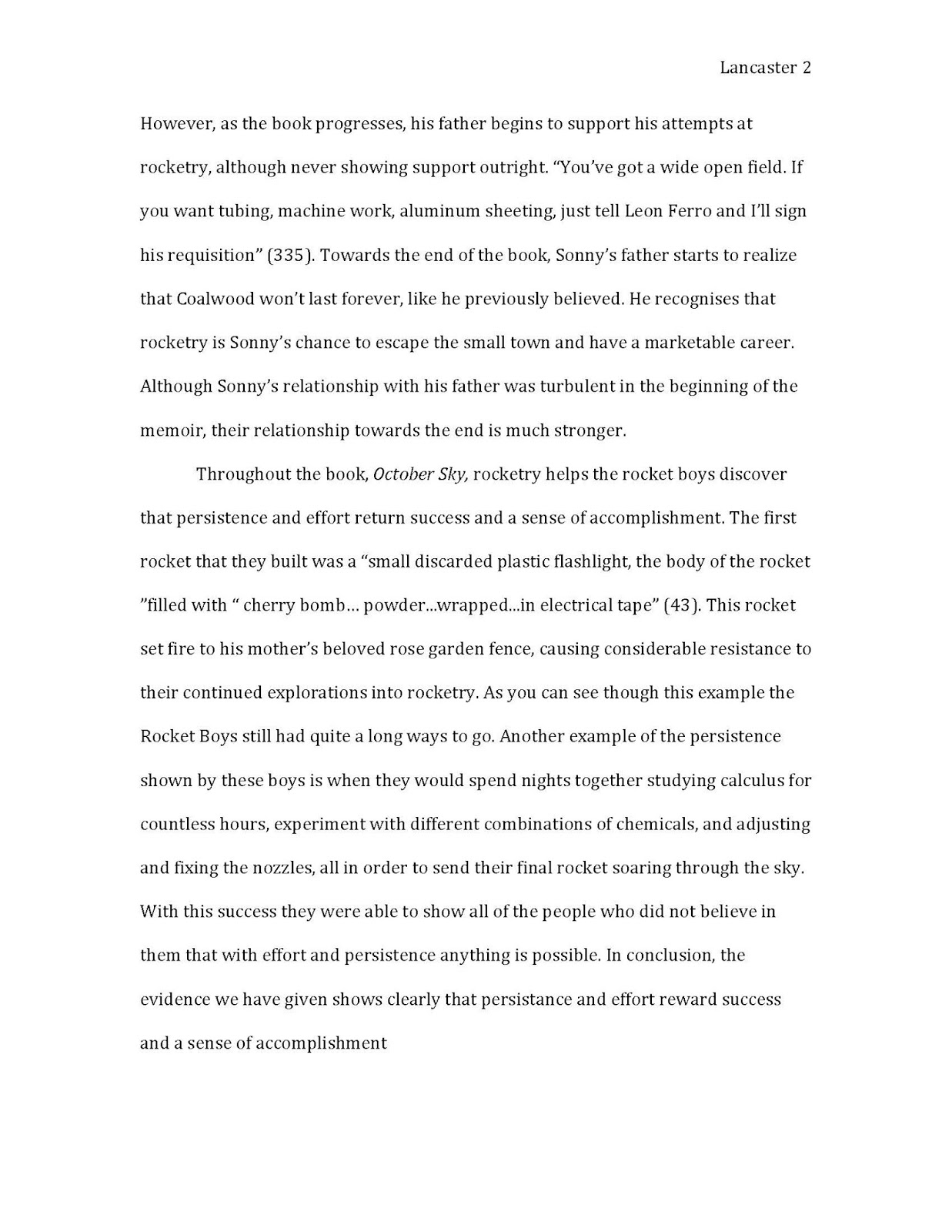 hammer time honors  period 1 class essay