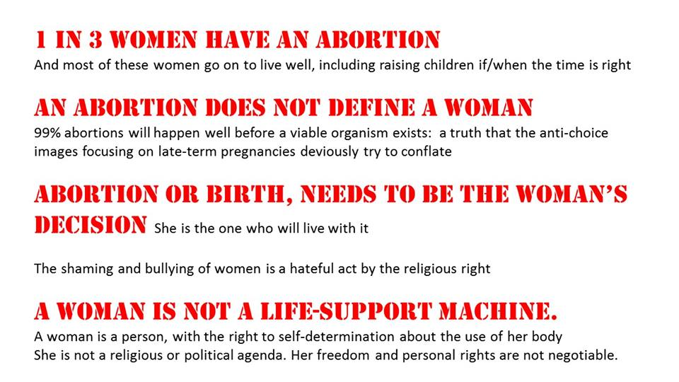 abortion is it a womans choice essay