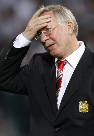 Sir Alex Ferguson Manchester United 2012