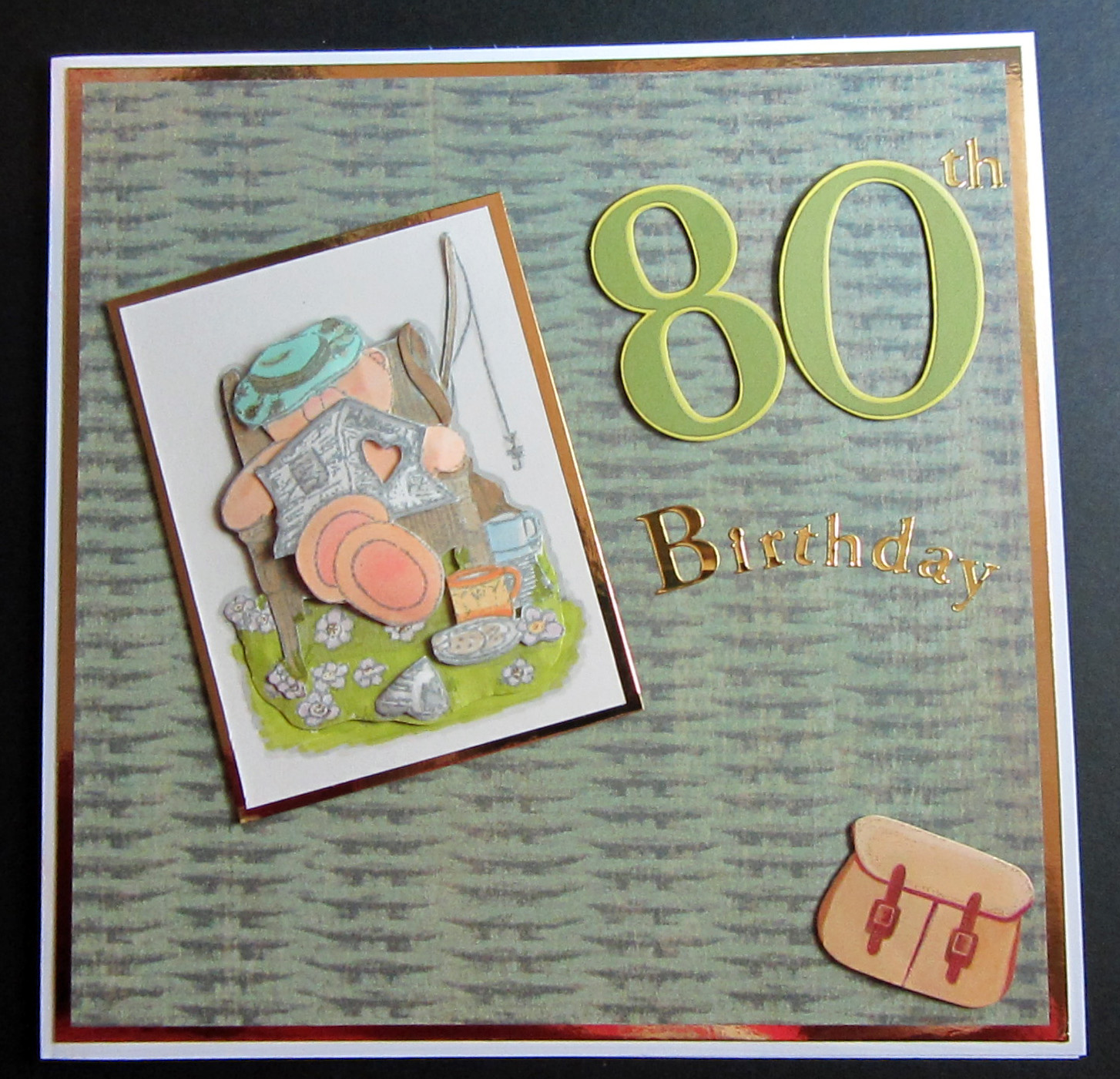 Lovely 80th birthday cards pictures laughterisaleap mellymoo papercrafting 80th birthday card bookmarktalkfo Image collections