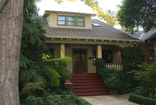 A girl in the world nice house vs nice neighborhood for California bungalow vs craftsman
