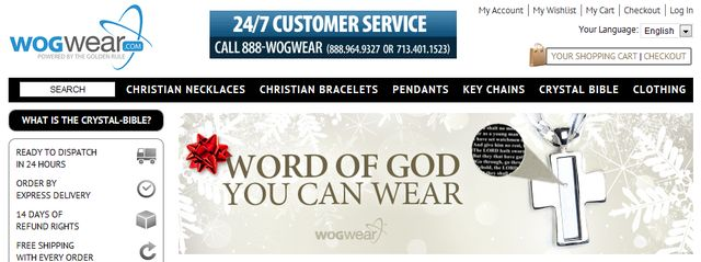 Christian Based Jewelry from WogWear.com