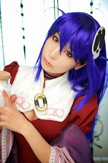 World God Only Knows Haqua Cosplay by Ren