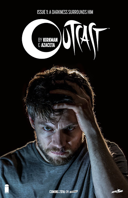 San Diego Comic-Con 2015 Exclusive Outcast by Kirkman & Azaceta Issue #1 Television Series Photo Variant Cover