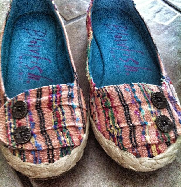 Straw bottom shoes