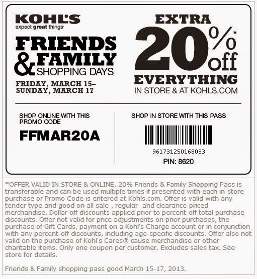30 off kohls coupon code may 2019