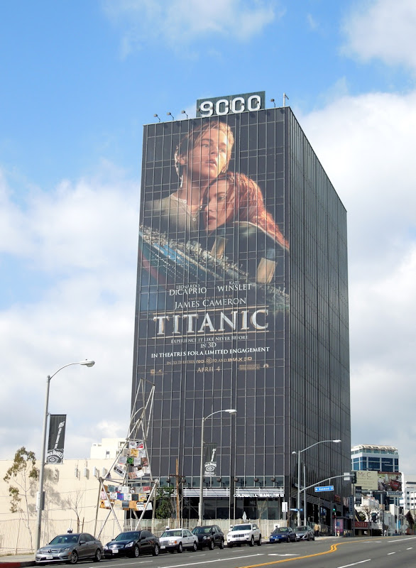 Giant Titanic billboard