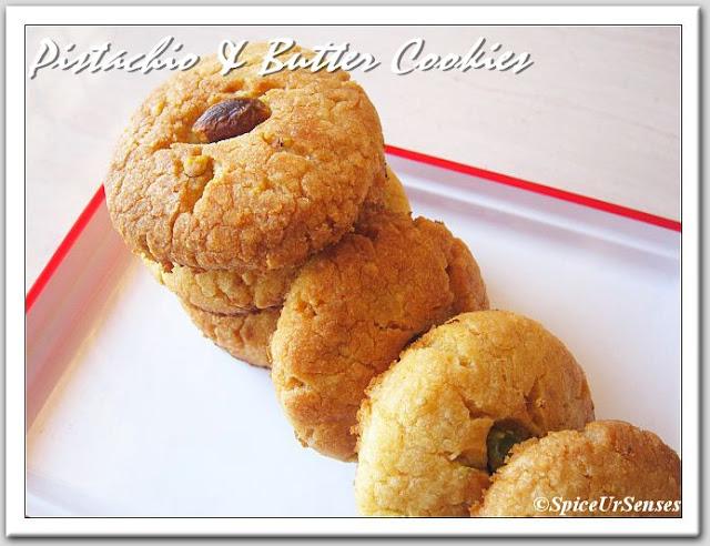 Pistachio & Butter Cookies...