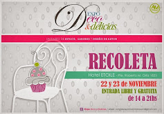 SAVE THE DATES:  Expo Deco Delicias y Diseño de Autor: LIBRE Y GRATUITA.