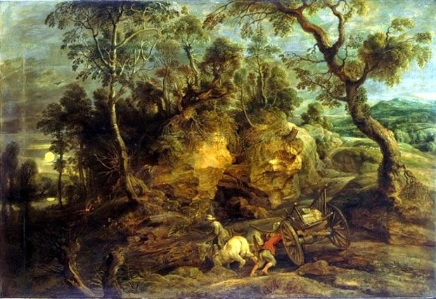 Rubens - Les charretiers,1629.