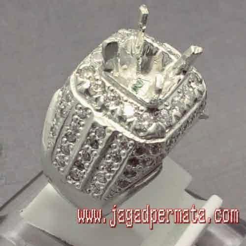model cincin ring perak jp887 toko batu permata jual