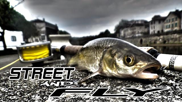 street fly fishing mouche