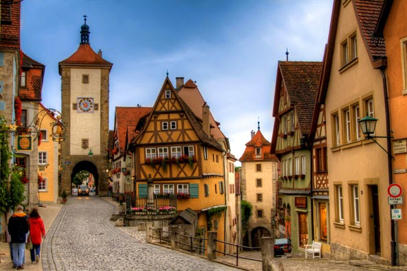 Romantic Road to Rothenburg Ob der Tauber