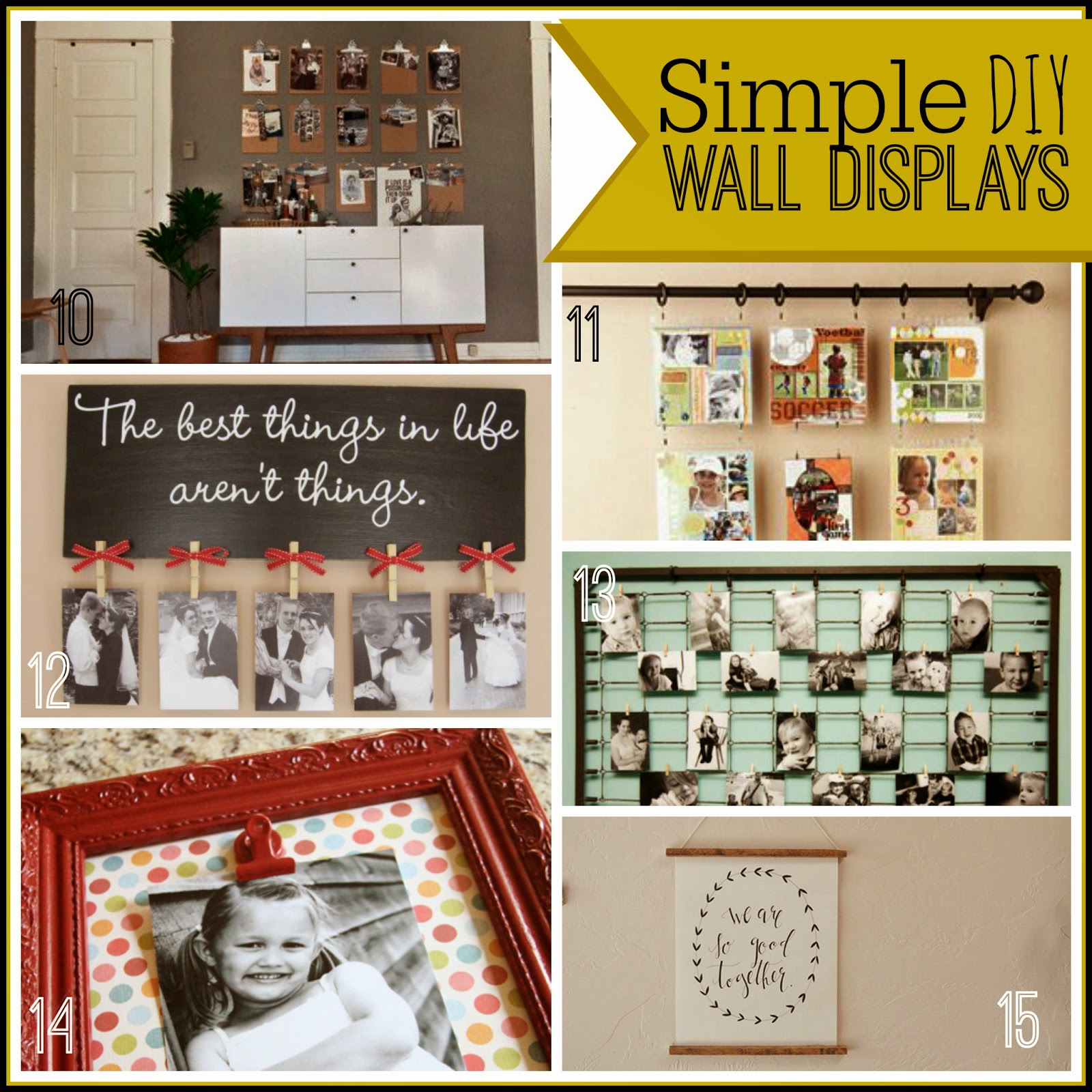 20+ DIY Ideas For All Those Photos #photography