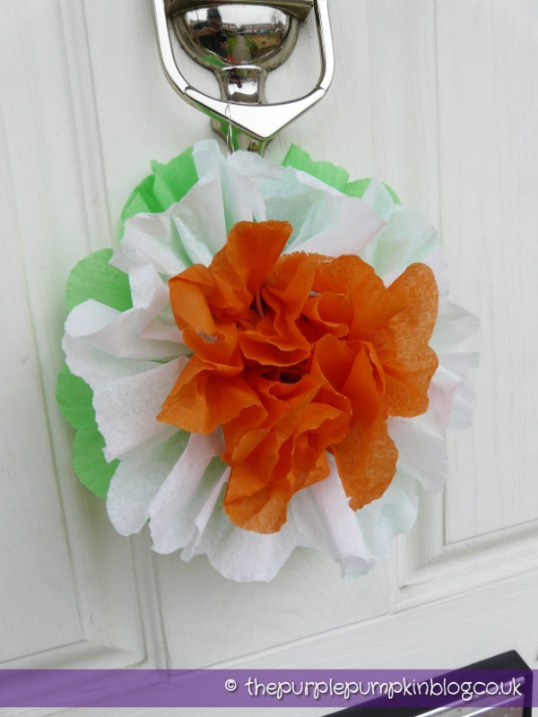 Irish Flag Rosette Decorations for St. Patrick's Day