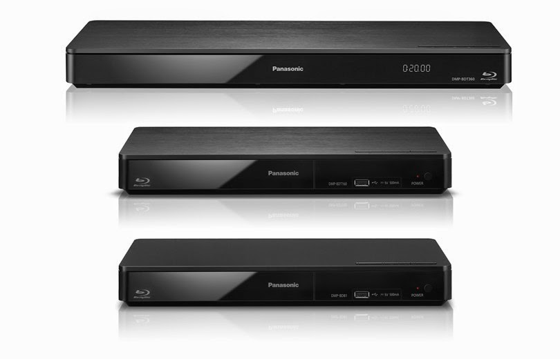 Reproductores Blue-ray 4K (Ultra HD) y 3D de Panasonic