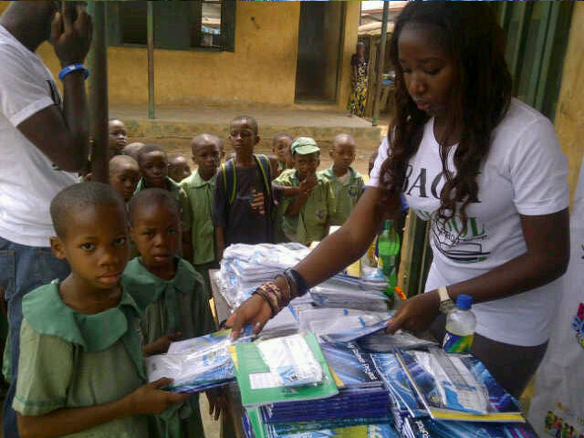 """Beyond The Classroom Foundation's """"Back to School Project"""" provides 512 pupils free school supplies"""